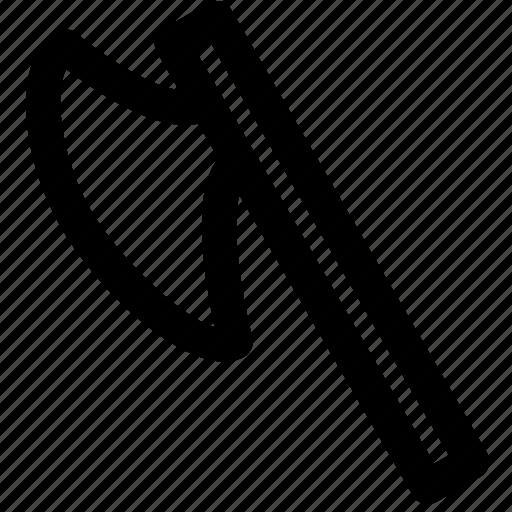ax, axe, blade, chop, hatchet, war, weapon icon