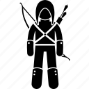 rogue, medieval, creed, killer, ranger, scout, assassin icon