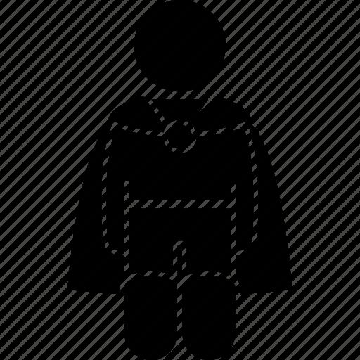 character, halfling, hobbit, human, medieval, short, small icon