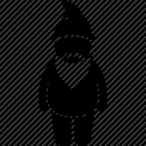 character, dwarf, fantasy, gnome, human, small icon