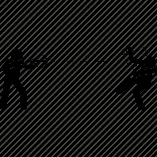 arrow, crossbow, kill, murder, shoot, weapon icon