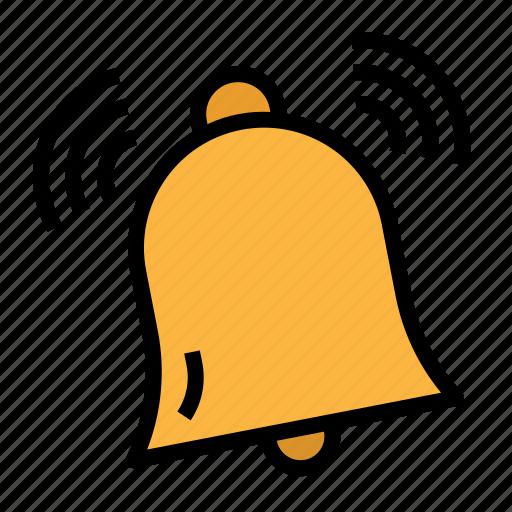 Alarm, bell, remind, reminder, ring icon