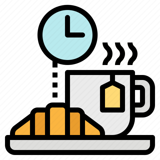 break, coffee, food, snack, time icon