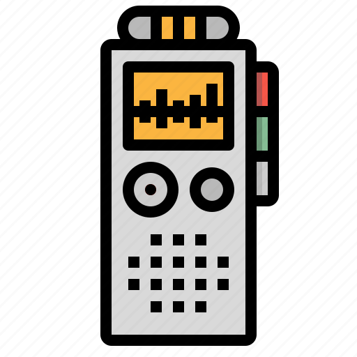 Microphone, recorder, recording, sound, voice icon - Download on Iconfinder
