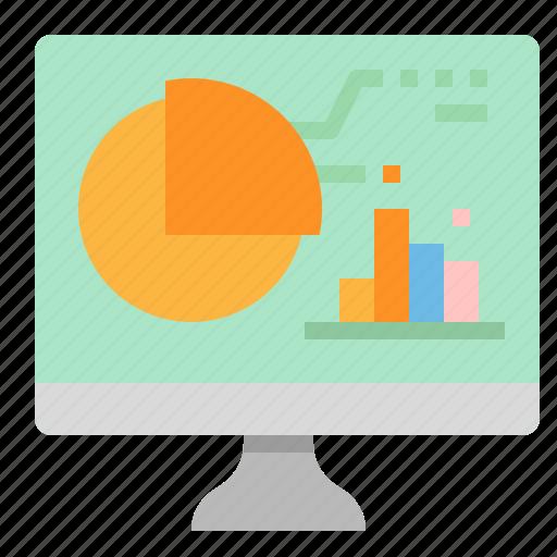 Analysis, chart, computer, graph, statistics icon - Download on Iconfinder