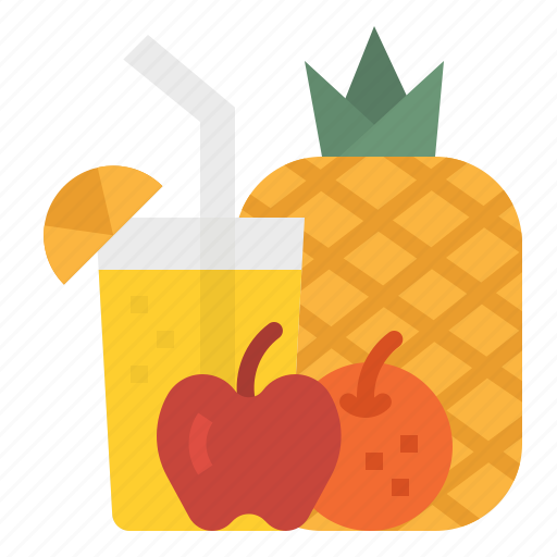 Beverage, breakfast, drink, fruit, juice icon - Download on Iconfinder