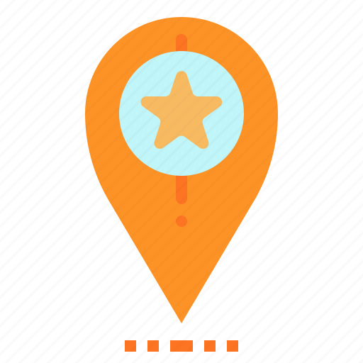 flavorate, location, map, pin, pointer icon