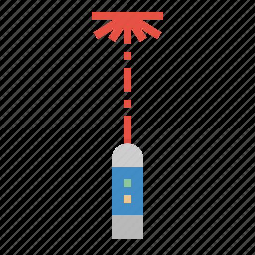 Laser, pen, pointer, power, presentation icon - Download on Iconfinder