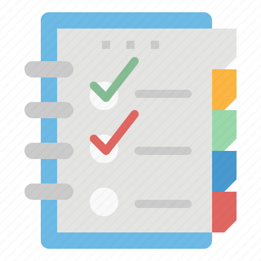 Agend, file, note, notebook, schedule icon - Download on Iconfinder