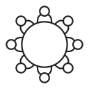conference, meeting, discussion, seminar, teamwork icon