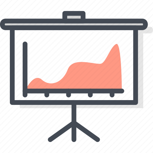 Business, chart, diagram, filled, flip, graph, outline icon - Download on Iconfinder