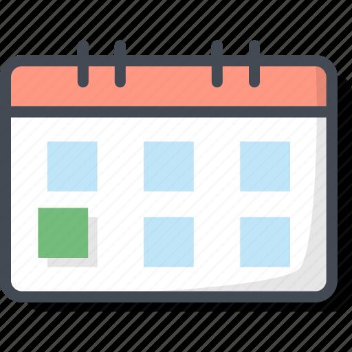 Business, calendar, filled, outline icon - Download on Iconfinder