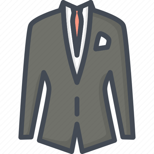 Business, clothes, filled, outline, suit icon - Download on Iconfinder