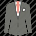 business, clothes, suit icon