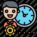 time, management, efficiency, schedule, process