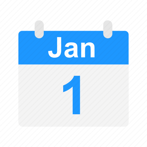 calendar, events, january, schedule icon