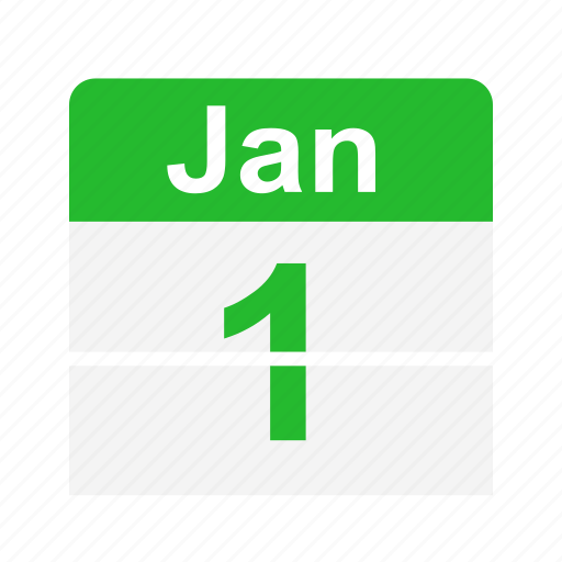calendar, events, new year, schedule icon