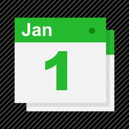 calendar, date, new year, schedule icon