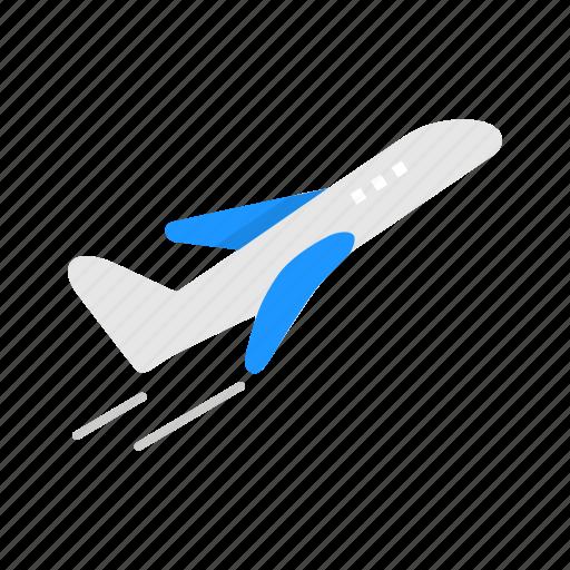 airplane, jet, plane, transportation icon