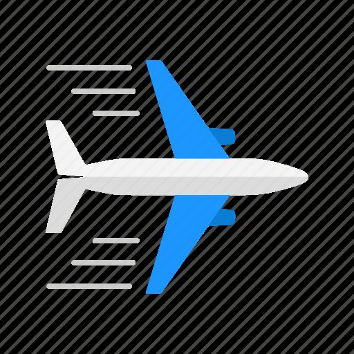 airplane, jet, transportation, travel icon