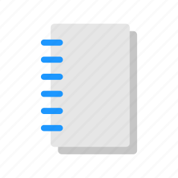 journal, list, notebook, notepad icon