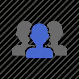 crowd, customers, group, membership, people, team icon