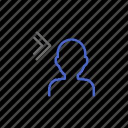 access, account, login, member, next, profile, user icon