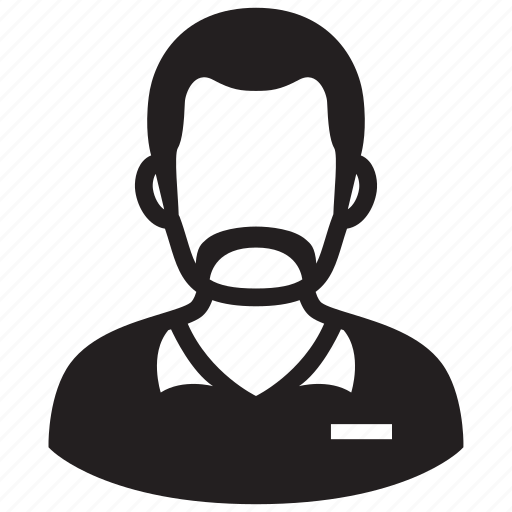 adult, avatar, male, man, moustache, mustache, profile icon
