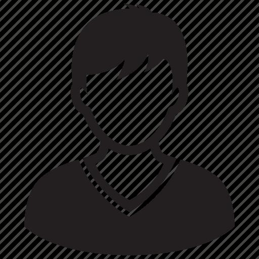 account, avatar, boy, man, teen, user icon