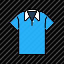 clothing, fashion, garment, men, polo shirt icon
