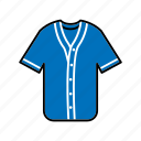baseball jersey, clothing, fashion, garment, sportswear icon