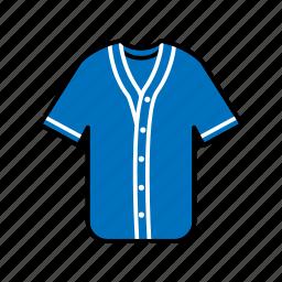 baseball jersey, clothing, fashion, garment, sportswear icon