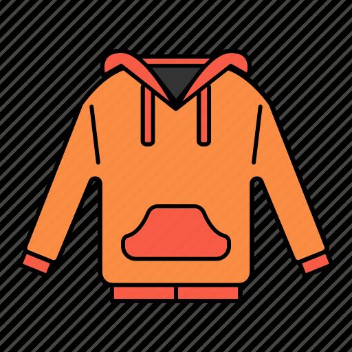 clothing, garment, hoodie, jacket, sweatshirt icon