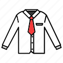 clothing, fashion, garment, shirt, uniform icon