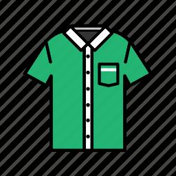 casual wear, clothing, fashion, garment, short sleeve shirt icon