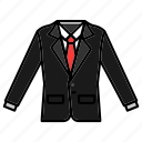 clothing, elegant, fashion, formal wear, suit icon