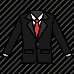 clothing, elegant, fashion, formal wear, suit icon