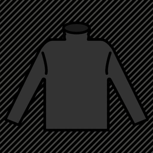 fashion, jumper, sweater, turtleneck, winter wear icon