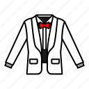 bow tie, fashion, formal wear, suit, tuxedo icon