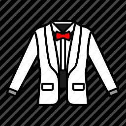 bow tie, fashion, formal wear, suit, tuxedo icon