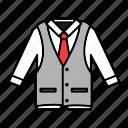 clothing, elegant, fashion, vest, waistcoat icon