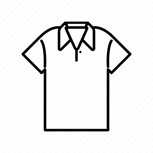 clothing, fashion, garment, men, polo shirt icon