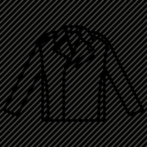 clothing, elegant, fashion, garment, leather jacket icon