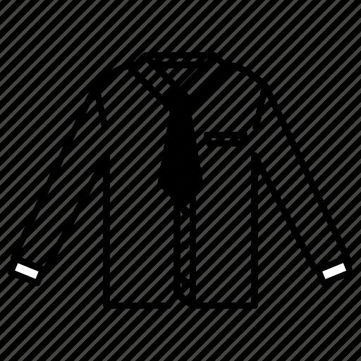 clothing, fashion, garment, shirt, uniform icon