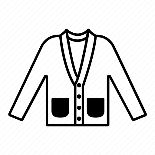 clothing, fashion, garment, pullover, sweater icon