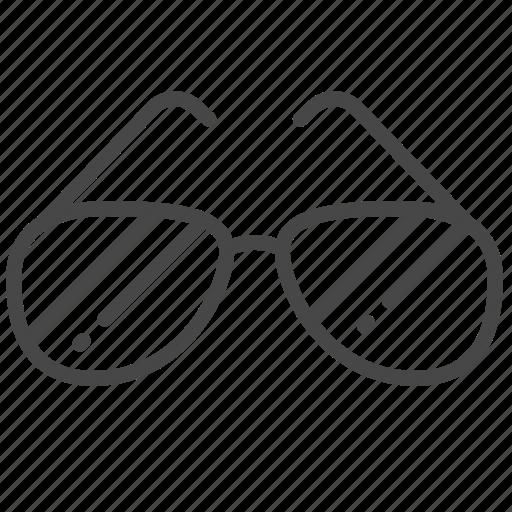 accessories, fashion, glasses, men, sunglasses icon