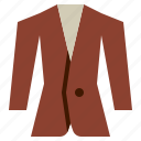 business, fashion, men, suit, tuxedo icon