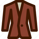 business, fashion, men, suit, tuxedo icon