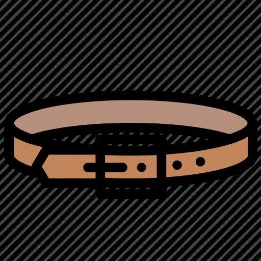 accessory, belt, clothes, fashion, waistband icon