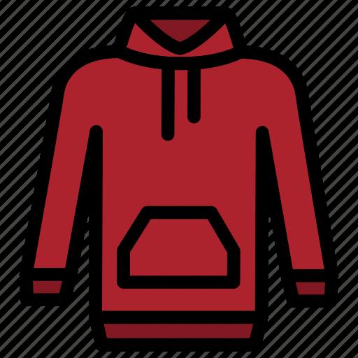 clothes, fashion, hoodie, man, wear icon